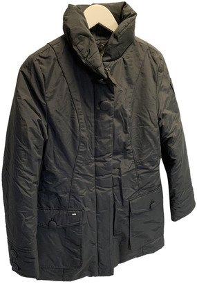 Nobis Black Cotton Coats