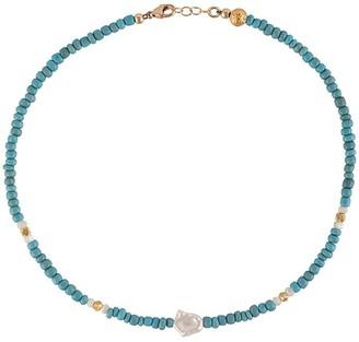 Nialaya Jewelry Short Seedbead Necklace