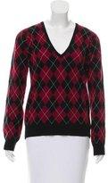 Pringle Argyle Cashmere Sweater