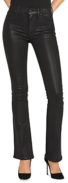 Hudson Bootcut Jeans in Noir Coated
