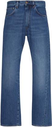 Totême Original Cropped Straight-Leg Jeans
