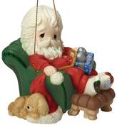 Precious Moments And To All A Goodnight Santa Christmas Ornament