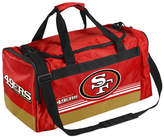 Forever Collectibles San Francisco 49ers Striped Core Duffle Bag