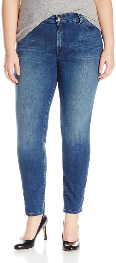 NYDJ Women's Plus Size Alina Legging Jeans in Premium Indigo Denim