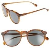 Raen Men's 'Remmy' 52Mm Sunglasses - Split Finish Rootbeer