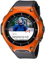 Casio 'Smartwatch' Quartz Resin Sport Watch, Color:Black (Model: WSD-F10RG)