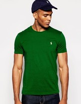 Polo Ralph Lauren T-shirt With Logo - Green