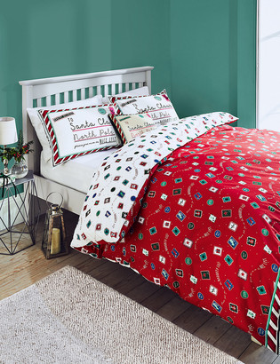 Marks and Spencer Cotton Rich Letter to Santa Bedding Set