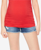 Wendy Bellissimo Maternity Cut-Off Shorts