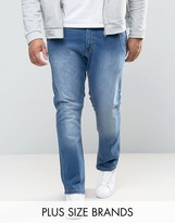Loyalty & Faith Loyalty And Faith Plus Stretch Regular Fit Salem Jeans