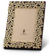 L'OBJET 24k Gold-Plated Swarovski® Crystal Garland Frame, 8 x 10
