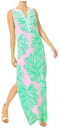 Lilly Pulitzer Carlotta Maxi Dress (Mandevilla Baby Who Let The Fronds Out) Women's Dress