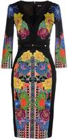 Just Cavalli Knee-length dresses - Item 34634532