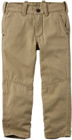 Carter's Jersey-Lined Canvas Pants