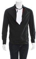 Alexander McQueen Long Sleeve V-Neck Shirt