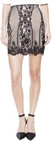 For Love & Lemons Wild Flower Mini Skirt