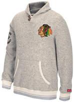 Reebok Chicago Blackhawks CCM Popover Sweater