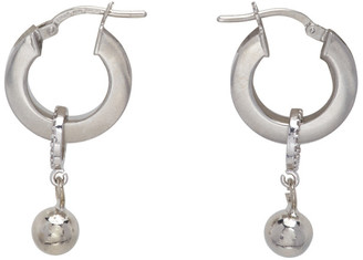 Mounser Silver Continuum Petite Earrings