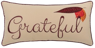C&F Home Grateful Embroidered 12x24 Throw Decorative Accent Throw Pillow