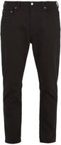 Acne Studios Blå Konst River mid-rise tapered-leg jeans