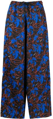 Marcelo Burlon County of Milan Hawaii straight-leg trousers