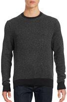 Hudson North Textured Crew Neck Sweater