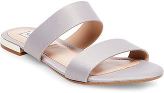 Steve Madden Women's Sandals GREY - Gray Shirley Satin Sandal - Women