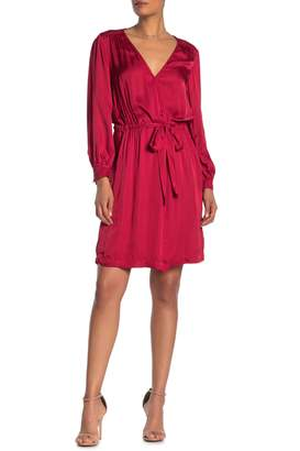 Velvet by Graham & Spencer Surplice Wrap Dress