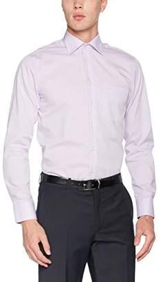 Seidensticker Men's Business Shirt Modern Fit Longsleeve