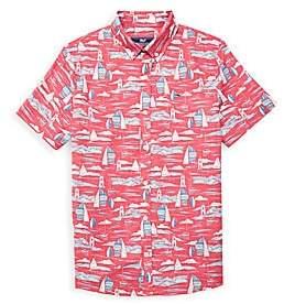 Vineyard Vines Little Boy's & Boy's Classic Murray Short-Sleeve Shirt