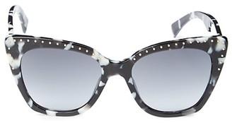 Moschino 53MM Cat Eye Sunglasses