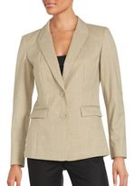 Lafayette 148 New York Virgin Wool Blazer