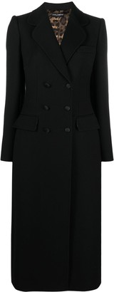 Dolce & Gabbana Double-Breasted Virgin Wool Coat