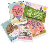Milestone Baby Cards Gift Set -first Smile, First Steps, First Words & 25 Other Magical Baby Moments by MILESTONE Cards