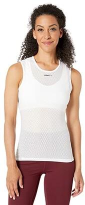 Craft Cool Mesh Superlight Sleeveless (White) Women's Clothing