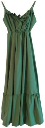 Non Signã© / Unsigned Green Cotton Dresses