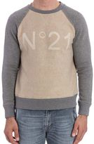 N°21 N.21 Long Sleeve Sweatshirt