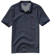 Pepe Jeans Plain Short-Sleeved Top with Polo Shirt Collar