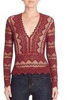 Nightcap Clothing Sierra Deep V-Neck Top
