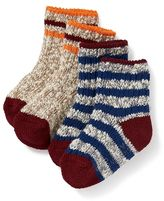 Old Navy Marled Boot Socks 2-Pack for Baby
