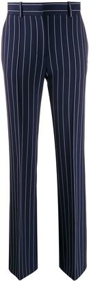 See by Chloe Pinstripe Straight-Leg Trousers