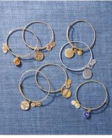 Alex and Ani Women's 'Initial' Adjustable Wire Bangle