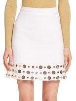 Michael Kors Grommet A-Line Skirt