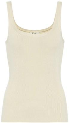 The Row Exclusive to Mytheresa Lanna silk tank top