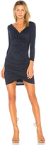 Velvet by Graham & Spencer Beatriz Long Sleeve Bodycon Dress in Navy. - size S (also in )