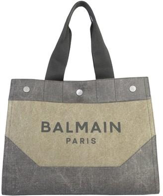 Balmain Logo Tote Bag