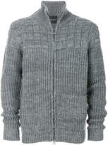 Roberto Collina textured zip cardigan