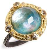 Armenta Women's Old World Opal & Diamond Ring