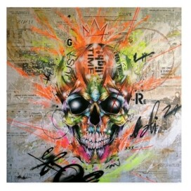 "Trademark Global Taka Sudo Globalized Folklore Canvas Art - 15.5"" x 21"""