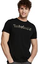 Timberland Men's Dunstan River Camo Print Logo Tee
